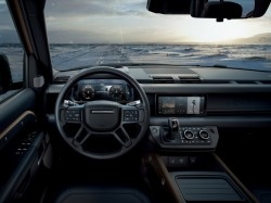 Land Rover Defender showcased with innovative connectivity technology