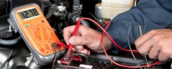 How to test alternator with multimeter?